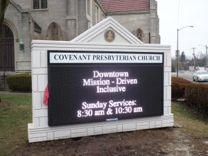 Eastwood Electronic Message Center Signs Covenantafter client 300x225