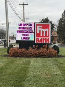 Eastwood Electronic Message Center Signs fmbank client 225x300